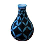 Aurea Blue Pottery Contemporary Vase