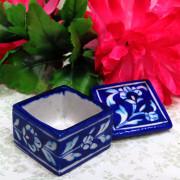 Aurea Blue Pottery Mini Box