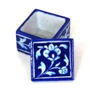Aurea Blue Pottery Mini Box