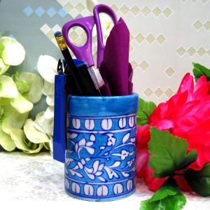 Aurea Blue Pottery Multipurpose holder