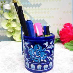Aurea Blue Pottery Multipurpose holder