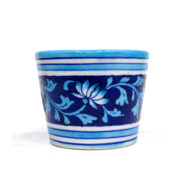 Aurea Blue Pottery Small Planter