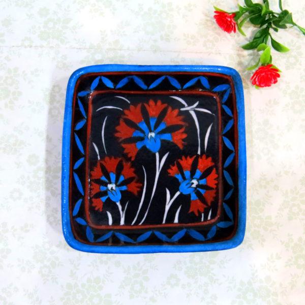 Aurea Blue Pottery Tray / Platter