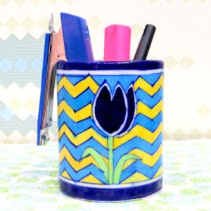 Aurea Blue Pottery Multi-purpose Holder