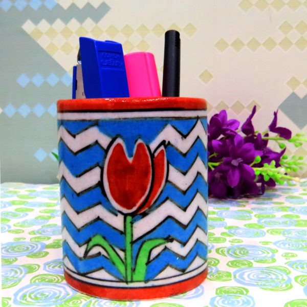 Aurea Blue Pottery Multi-purpose Holder