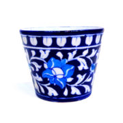 Aurea Blue Pottery Planter