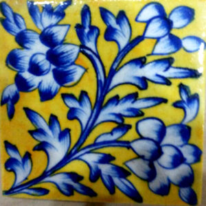 Aurea Blue Pottery Tile