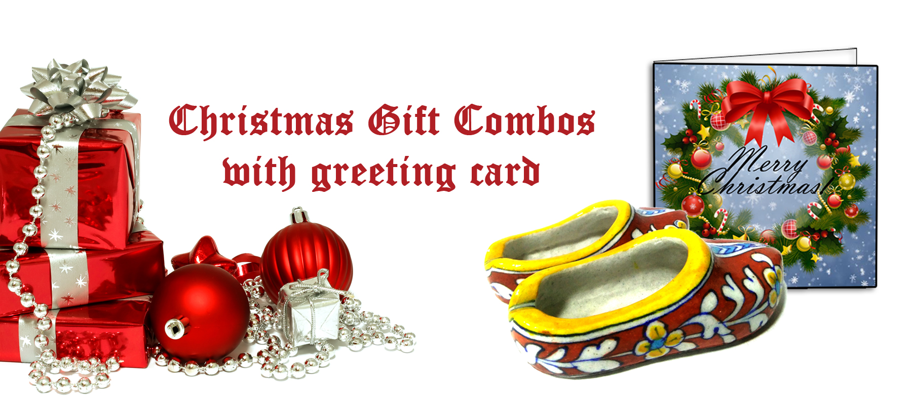 Christmas gifts aurea blue pottery greeting gift combos