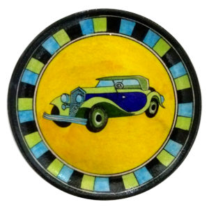 Blue Pottery decorative wall plates